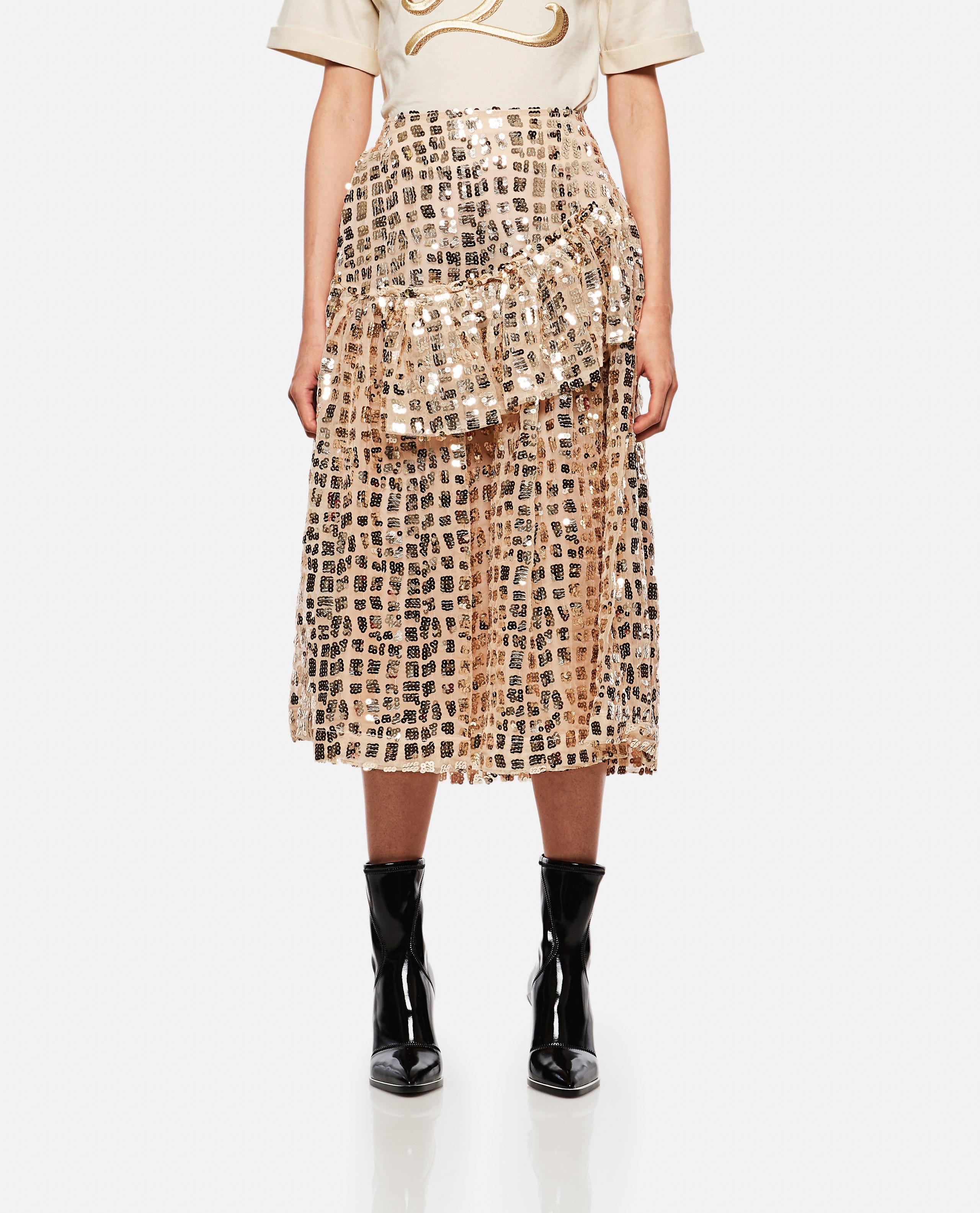 Skirt with  ruffles