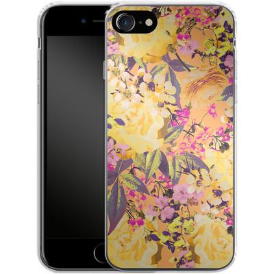 Apple iPhone 8 Silikon Handyhuelle - Symmetric Spring von Zala Farah