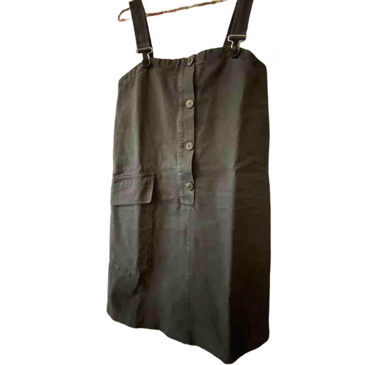 Masscob - Robe   pour femme en coton - marine