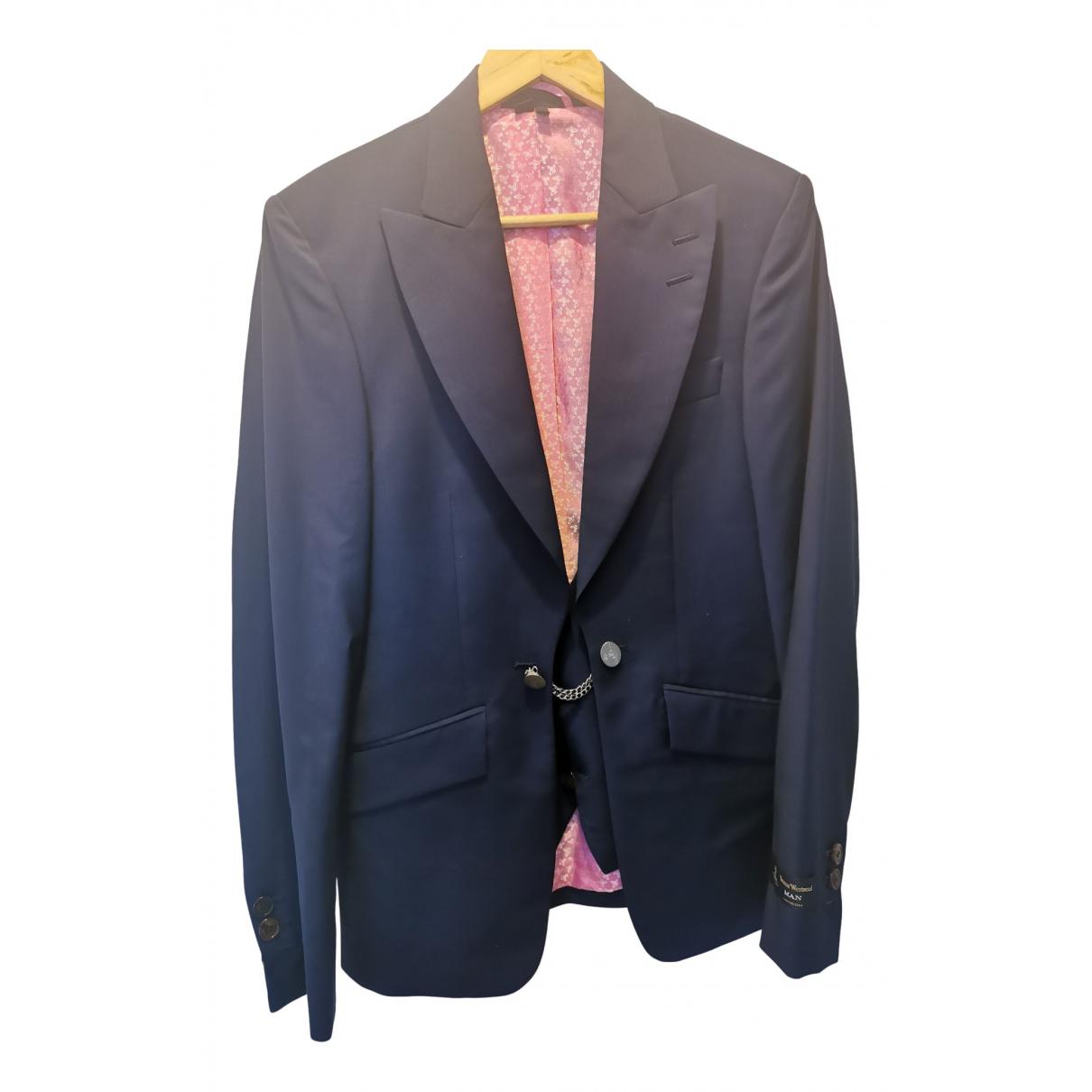Vivienne Westwood N Blue Wool jacket  for Men M International