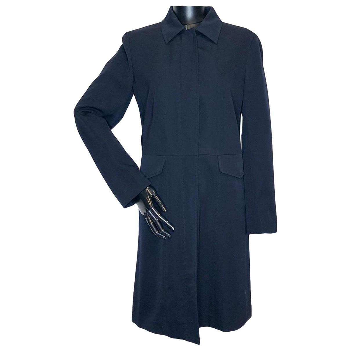 Prada \N Navy coat for Women 40 IT