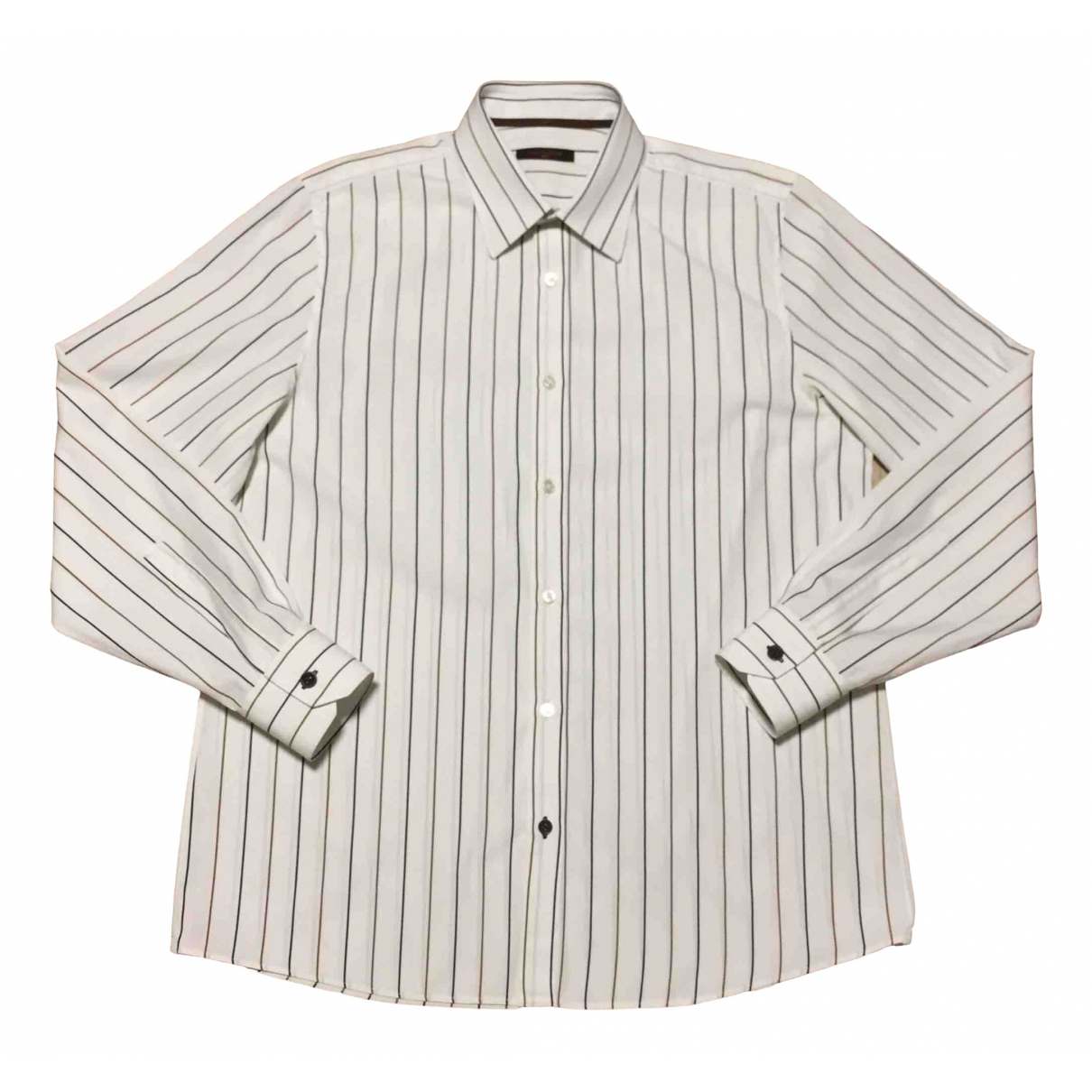 Louis Vuitton \N White Cotton Shirts for Men L International