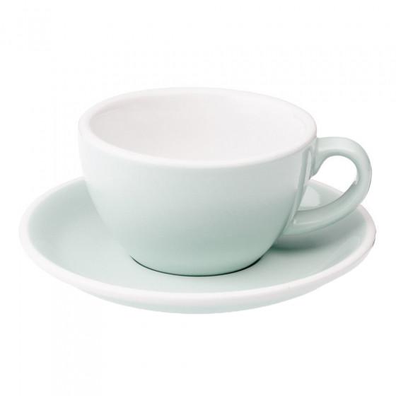 "Cappuccino-Tasse mit Untertasse Loveramics ""Egg River Blue"", 200 ml"