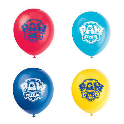Ballons en latex Paw Patrol 12