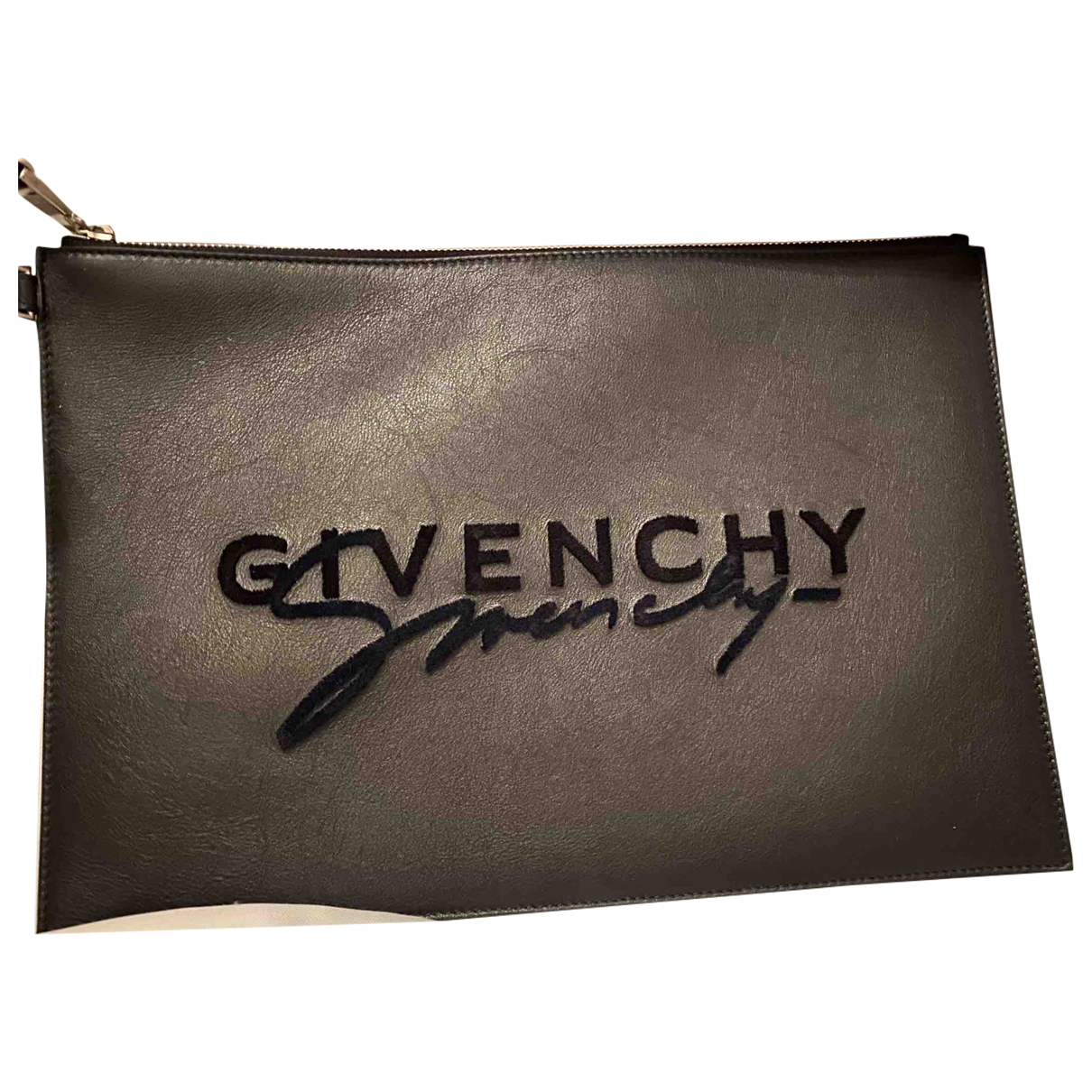 Givenchy \N Black Leather Clutch bag for Women \N
