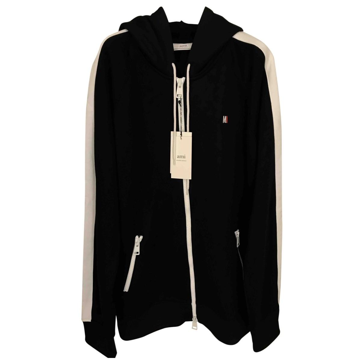 Ami \N Pullover.Westen.Sweatshirts  in  Schwarz Polyester