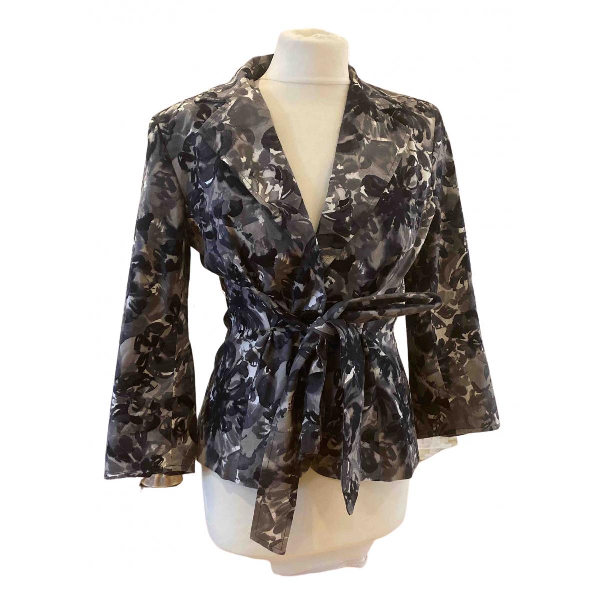 Max Mara \N Grey Cotton jacket for Women 42 IT