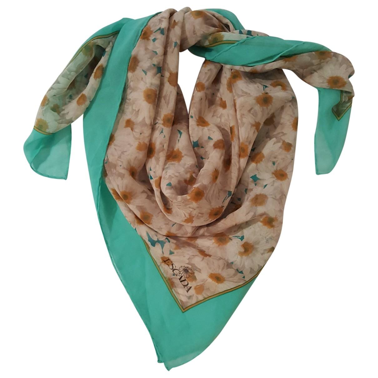 Escada \N Multicolour Silk scarf for Women \N