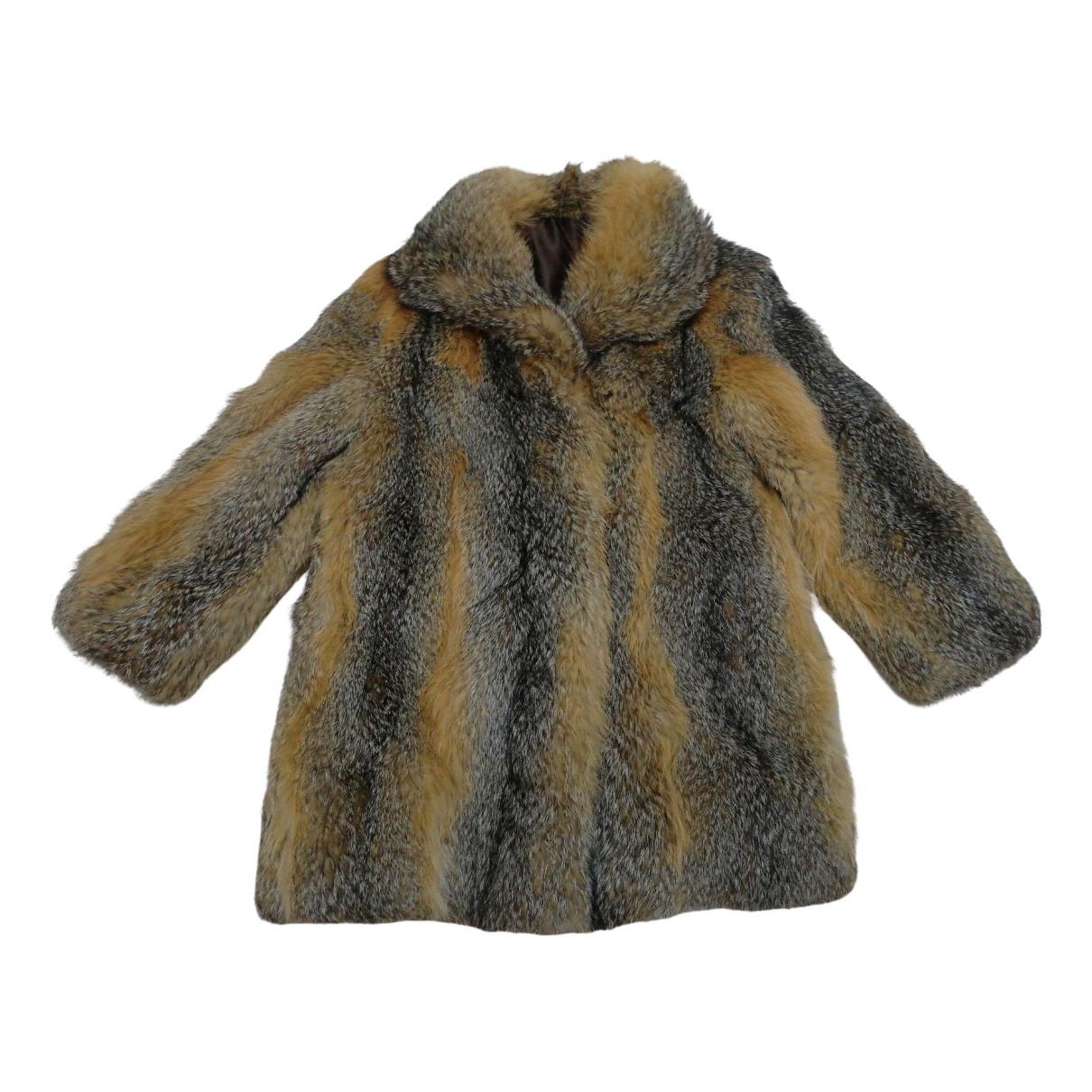Non Signé / Unsigned \N Multicolour Fox coat for Women 46 IT