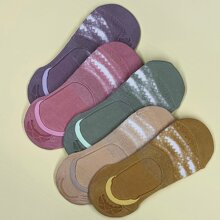 5 pares calcetines con encaje