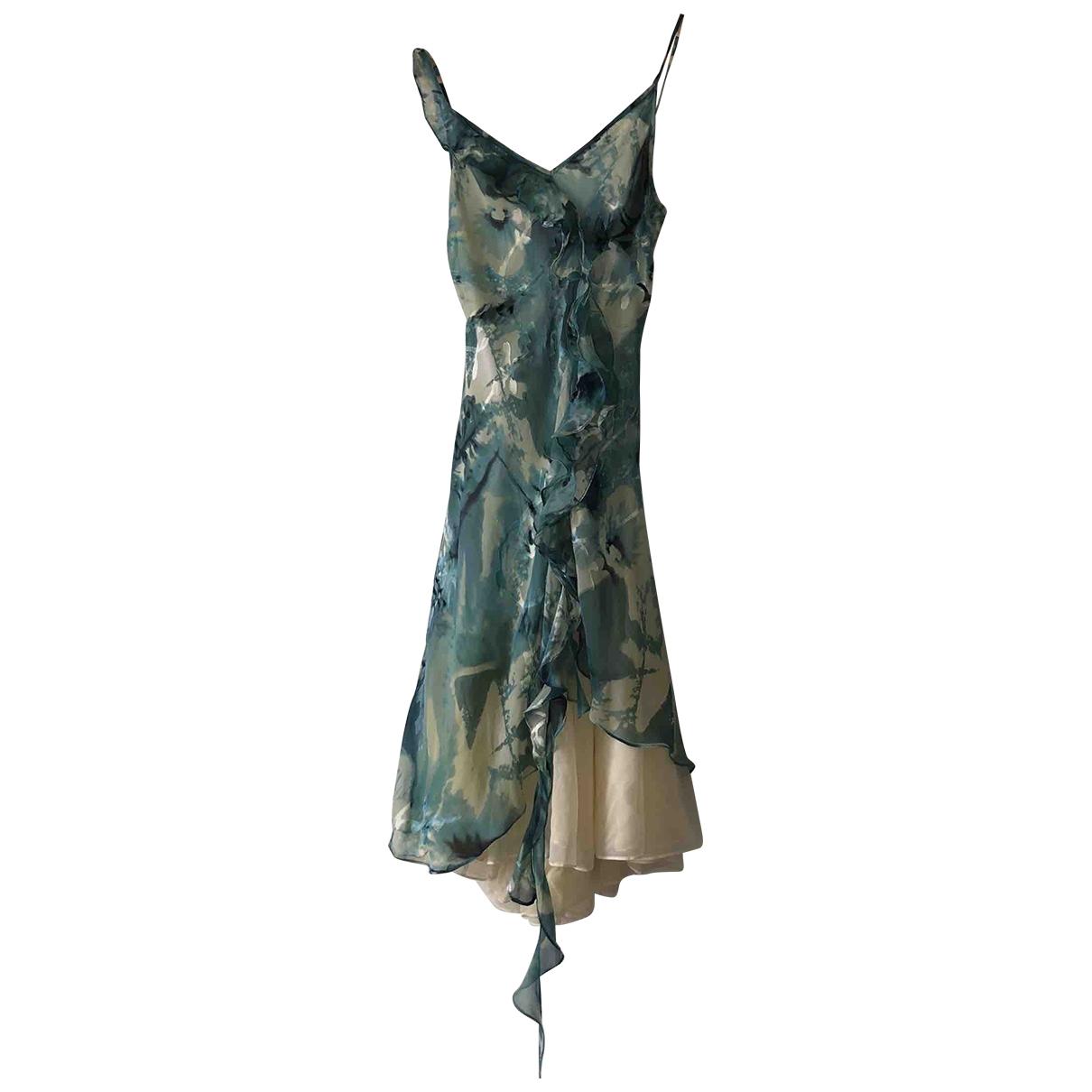 Vestido midi de Seda Irina Schroter
