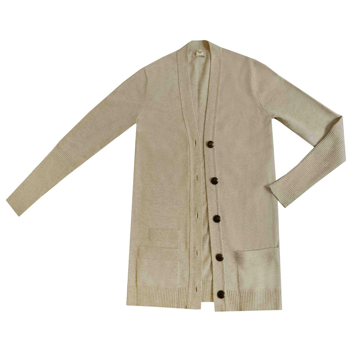 Hermes \N Pullover in  Beige Kaschmir