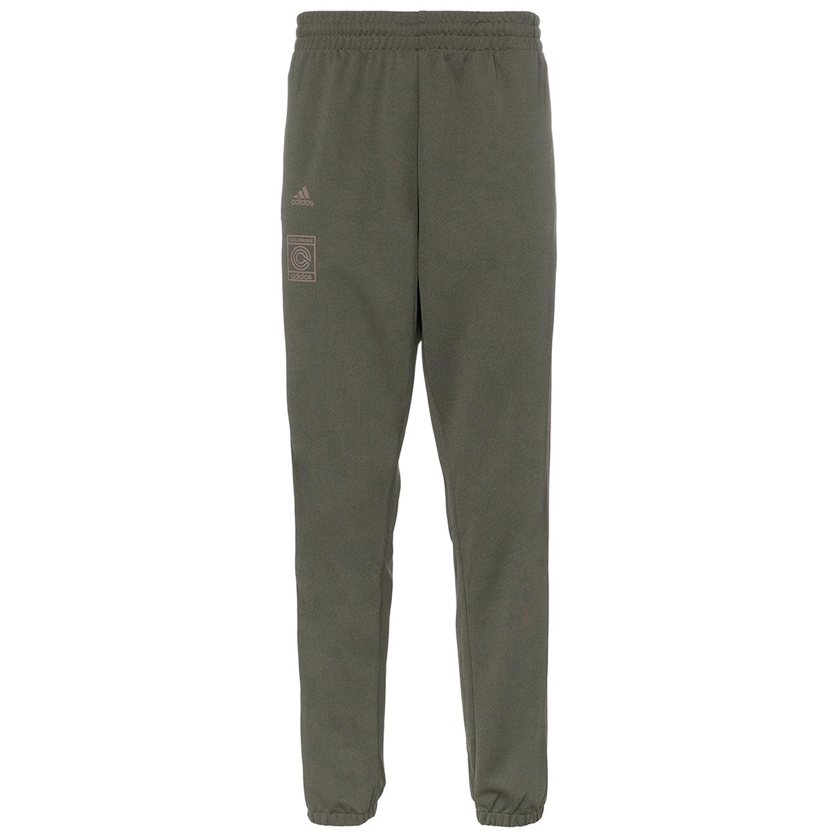 Yeezy X Adidas - Pantalon   pour femme - marron