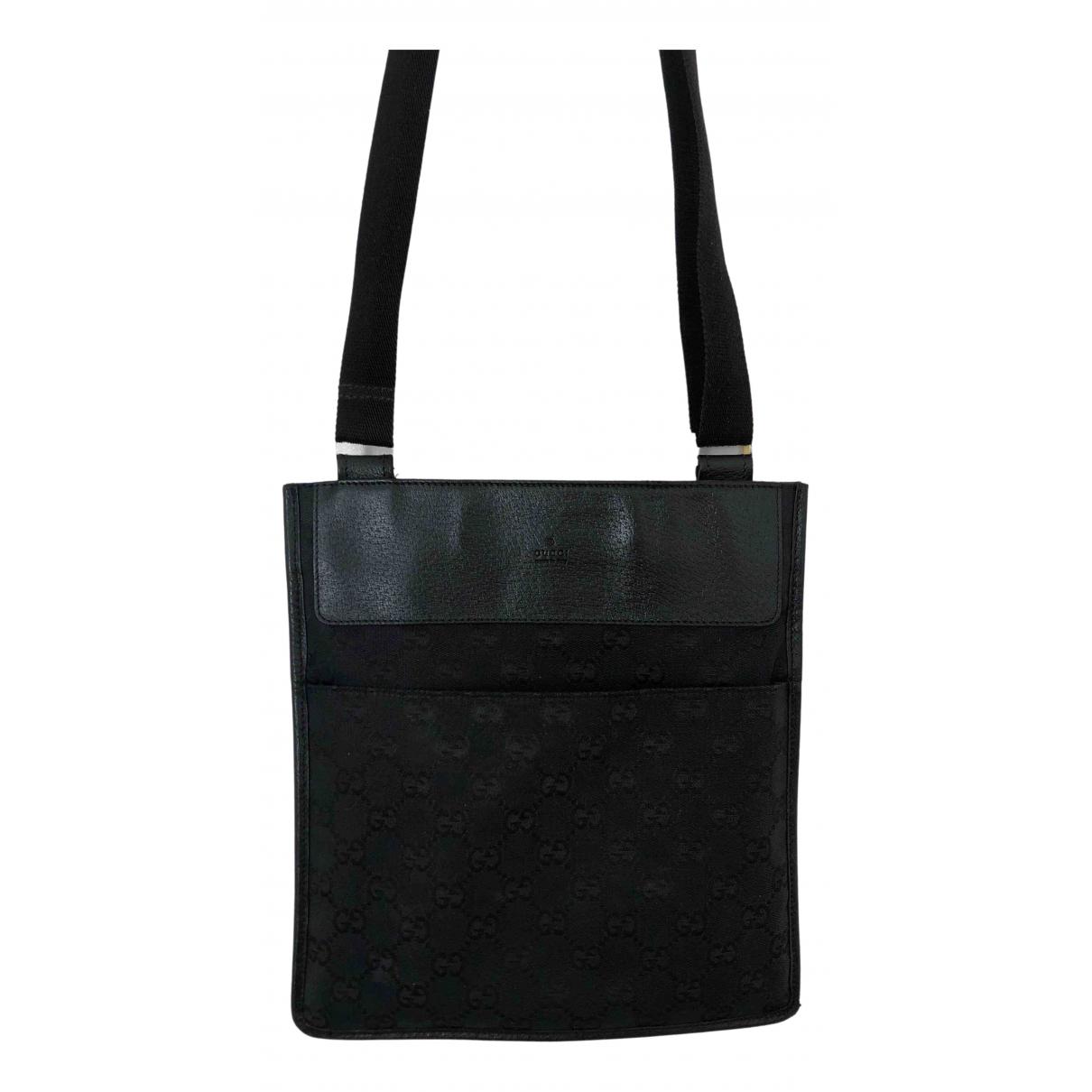 Gucci - Petite maroquinerie   pour homme en toile - noir