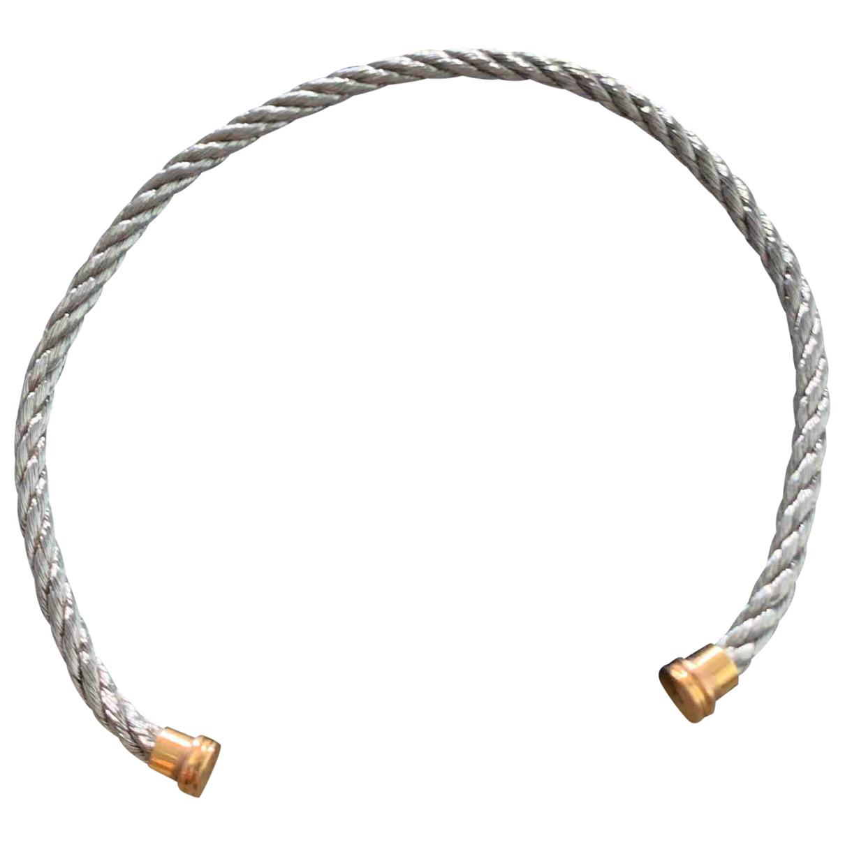 Fred - Bracelet Force 10 pour femme en acier - argente