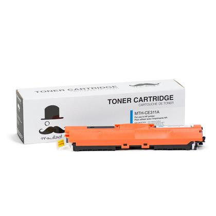Compatible HP TopShot LaserJet Pro M275 MFP Cyan Toner Cartridge - Moustache