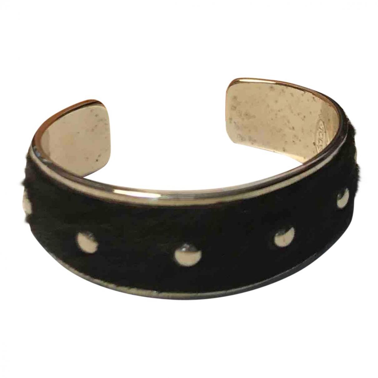 Tods - Bracelet   pour femme en acier - noir