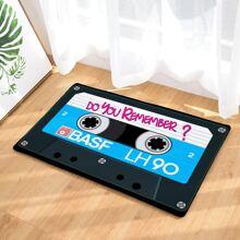 Magnetic Tape Print Floor Mat