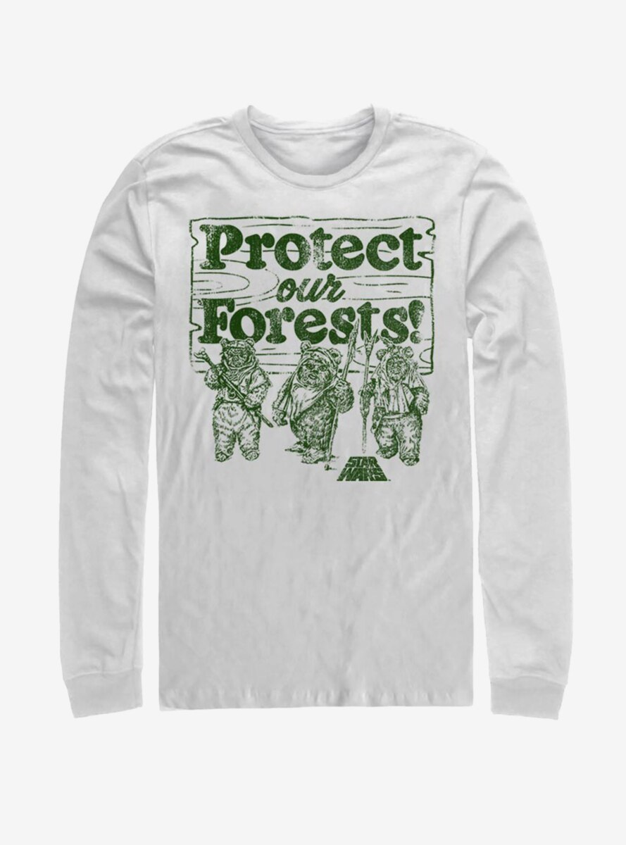 Star Wars Protect Our Forests Long-Sleeve T-Shirt