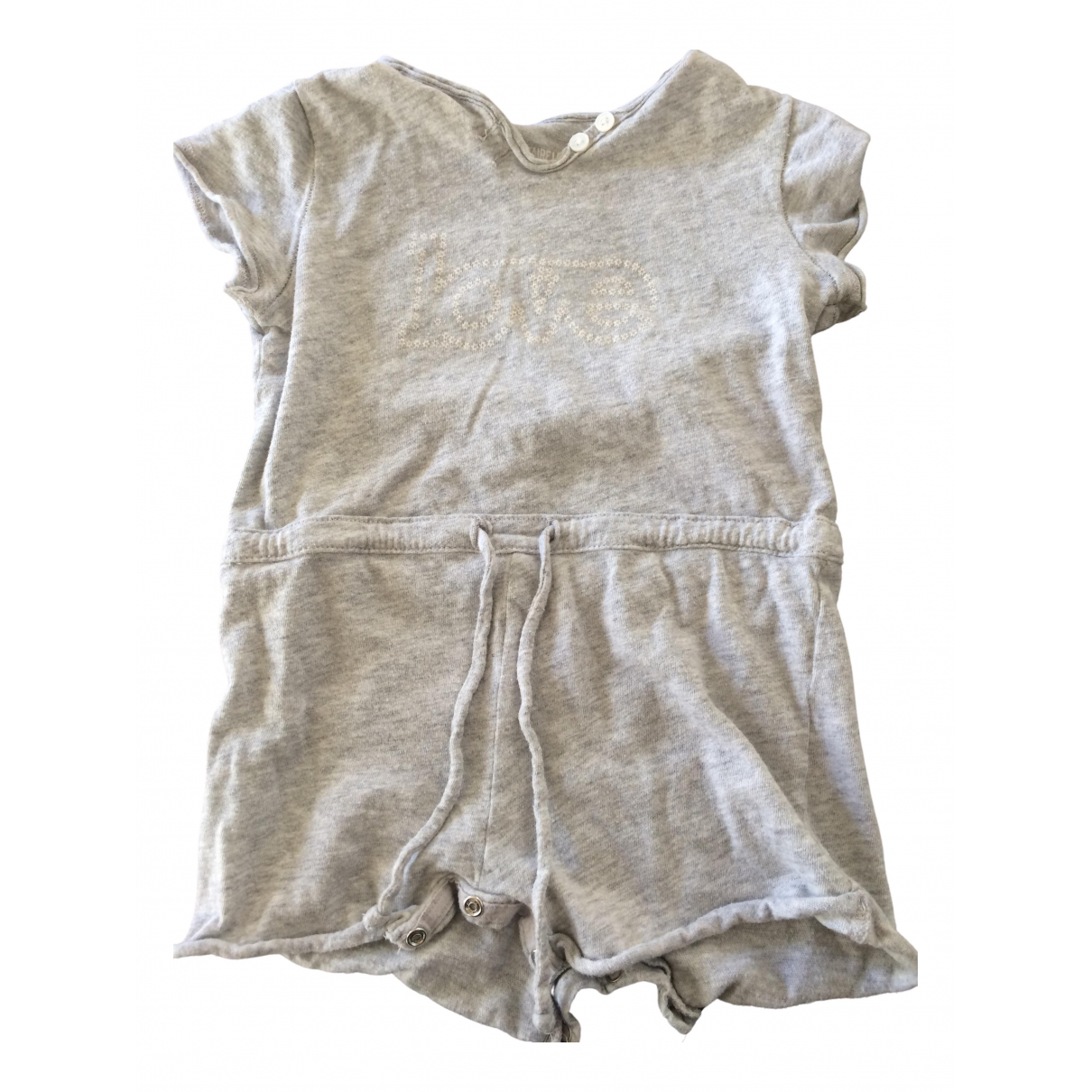 Zadig & Voltaire N Grey Cotton Outfits for Kids 12 months - up to 74cm FR