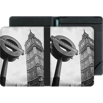 tolino vision 4 HD eBook Reader Huelle - Big Ben & Underground von Ronya Galka