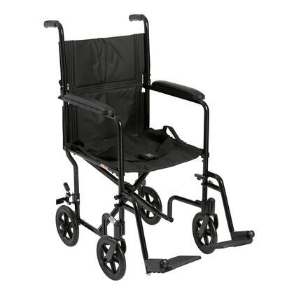 atc19-bk Lightweight Transport Wheelchair  19 Seat