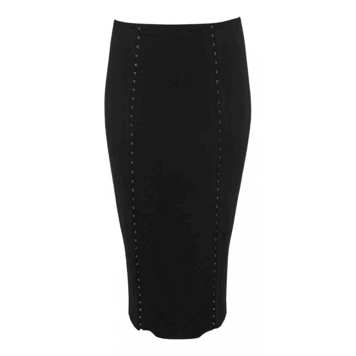 Murmur - Jupe   pour femme en coton - elasthane - noir