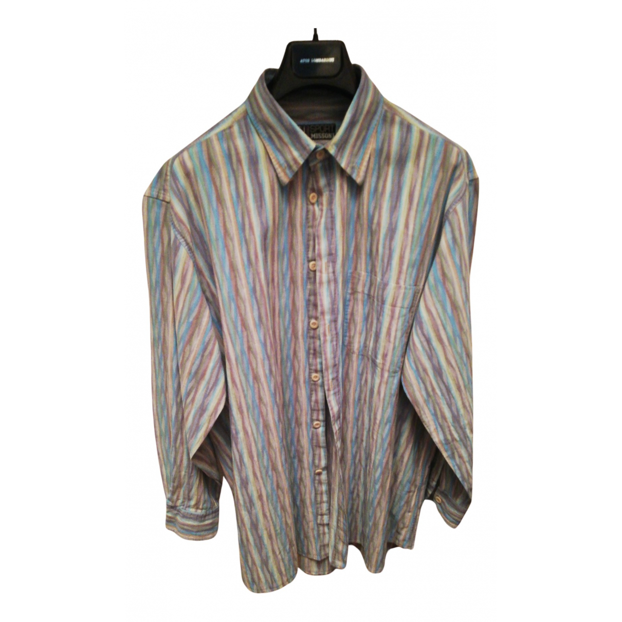 Missoni N Multicolour Cotton Shirts for Men XL International