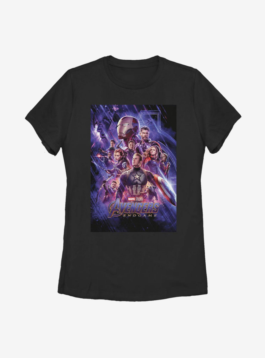 Marvel Avengers Poster Womens T-Shirt