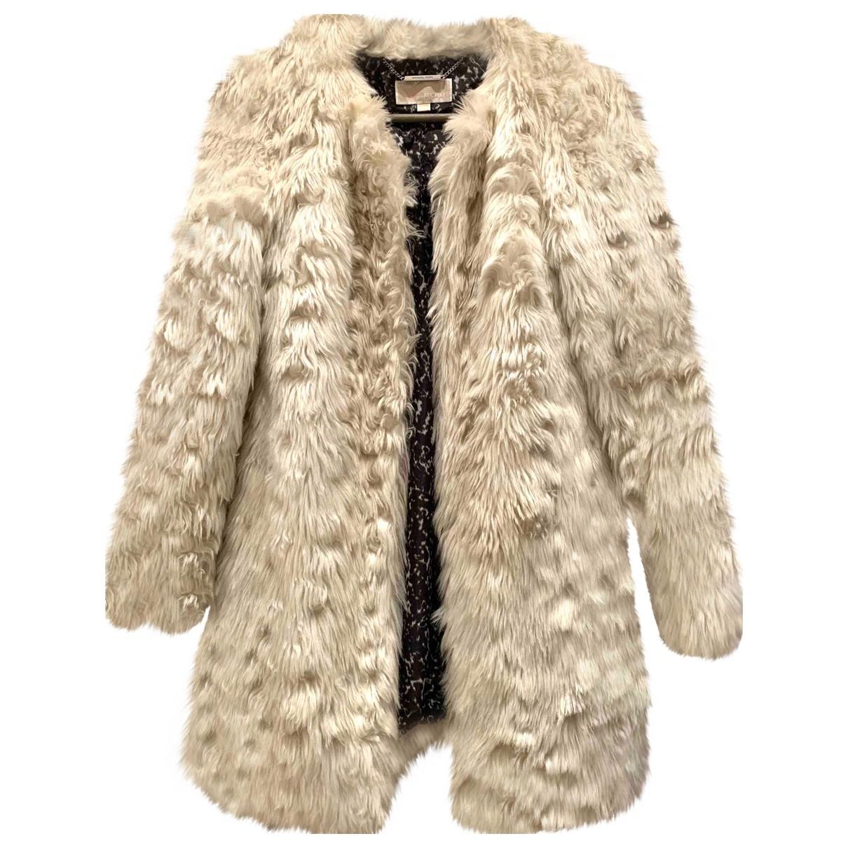 Michael Kors \N Ecru Faux fur coat for Women S International
