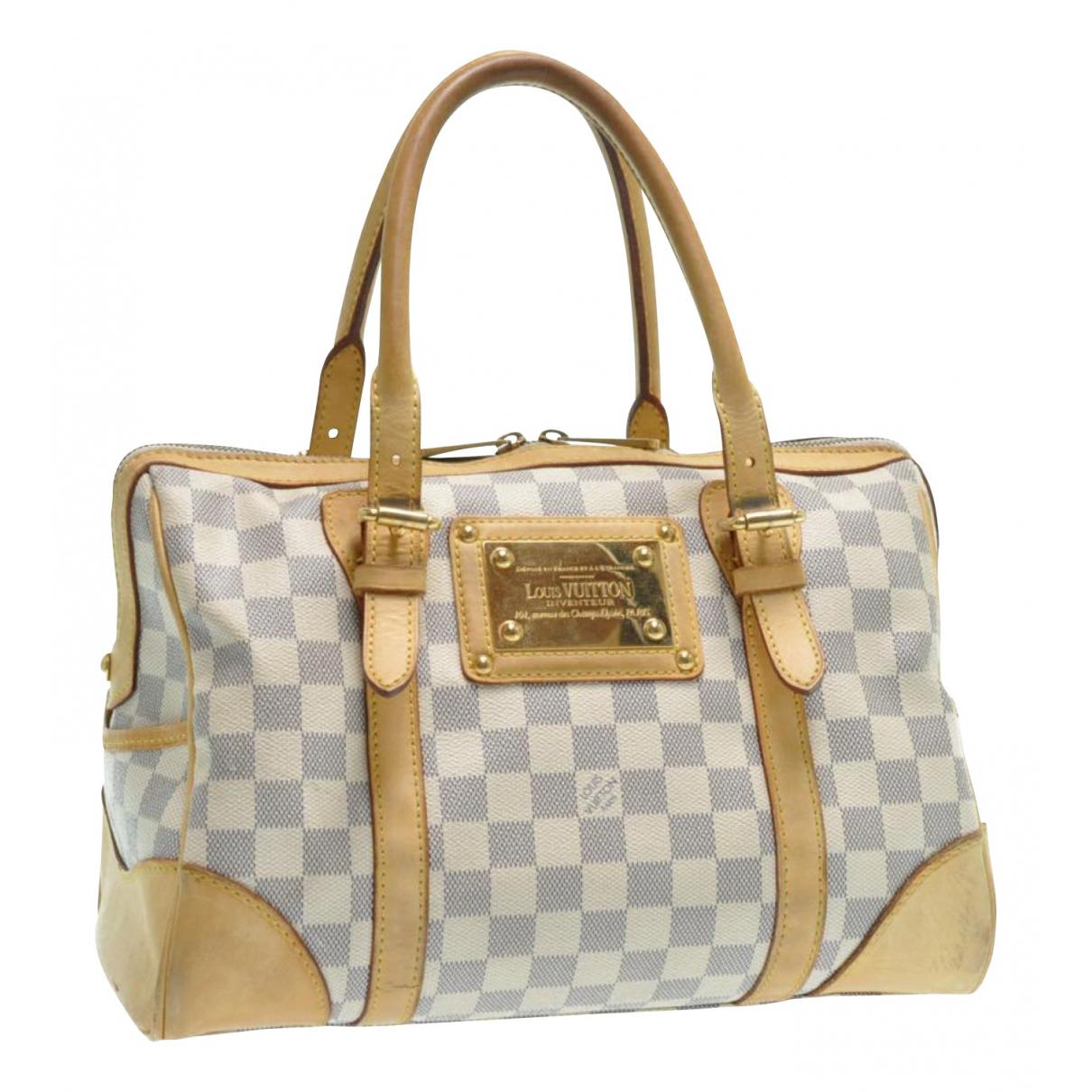 Louis Vuitton - Sac a main   pour femme en toile - beige