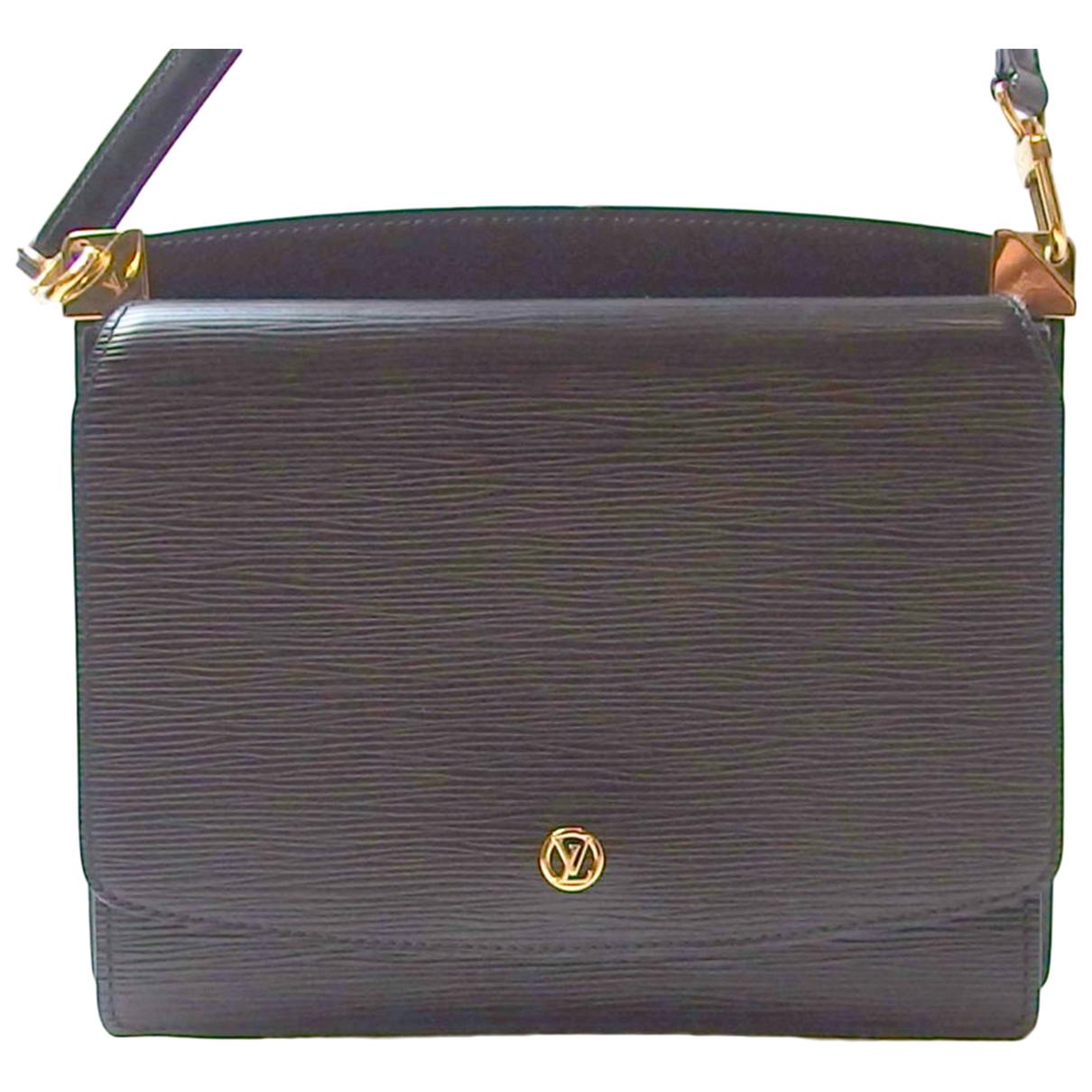 Louis Vuitton - Sac a main Grenelle pour femme en cuir - noir