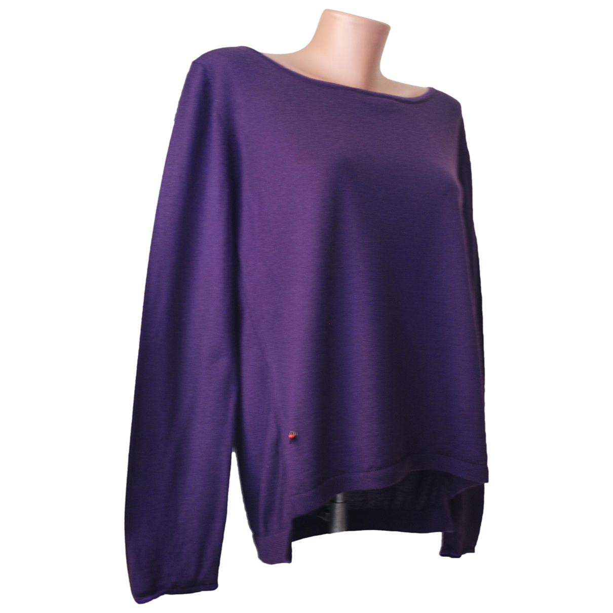 Maliparmi - Pull   pour femme en laine - violet