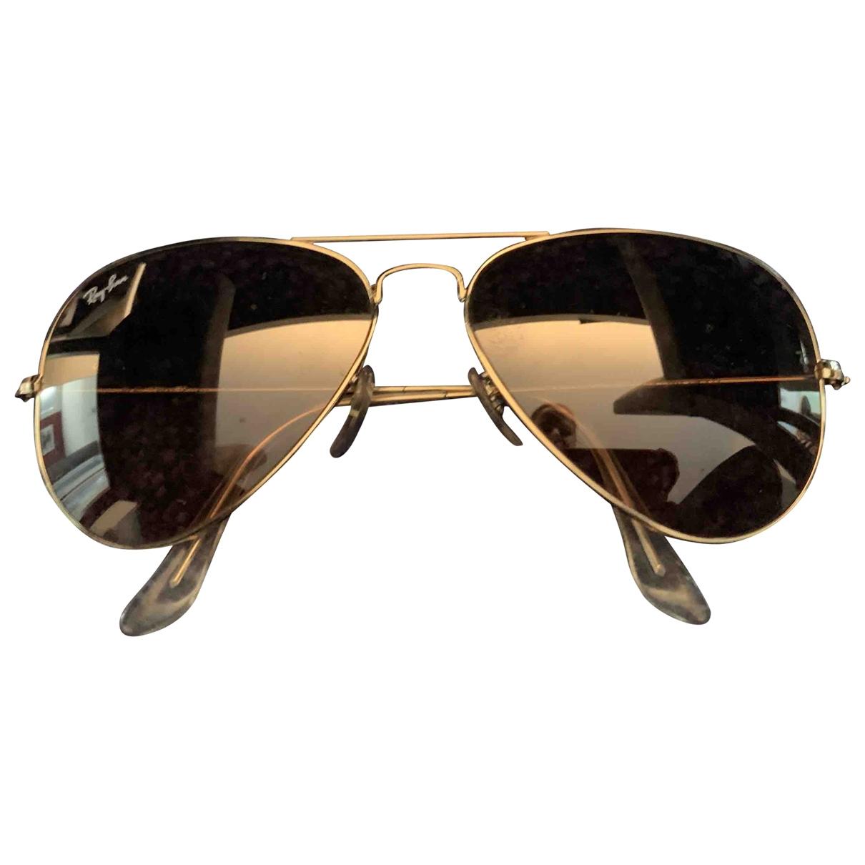 Ray-ban \N Sonnenbrillen in  Rosa Metall