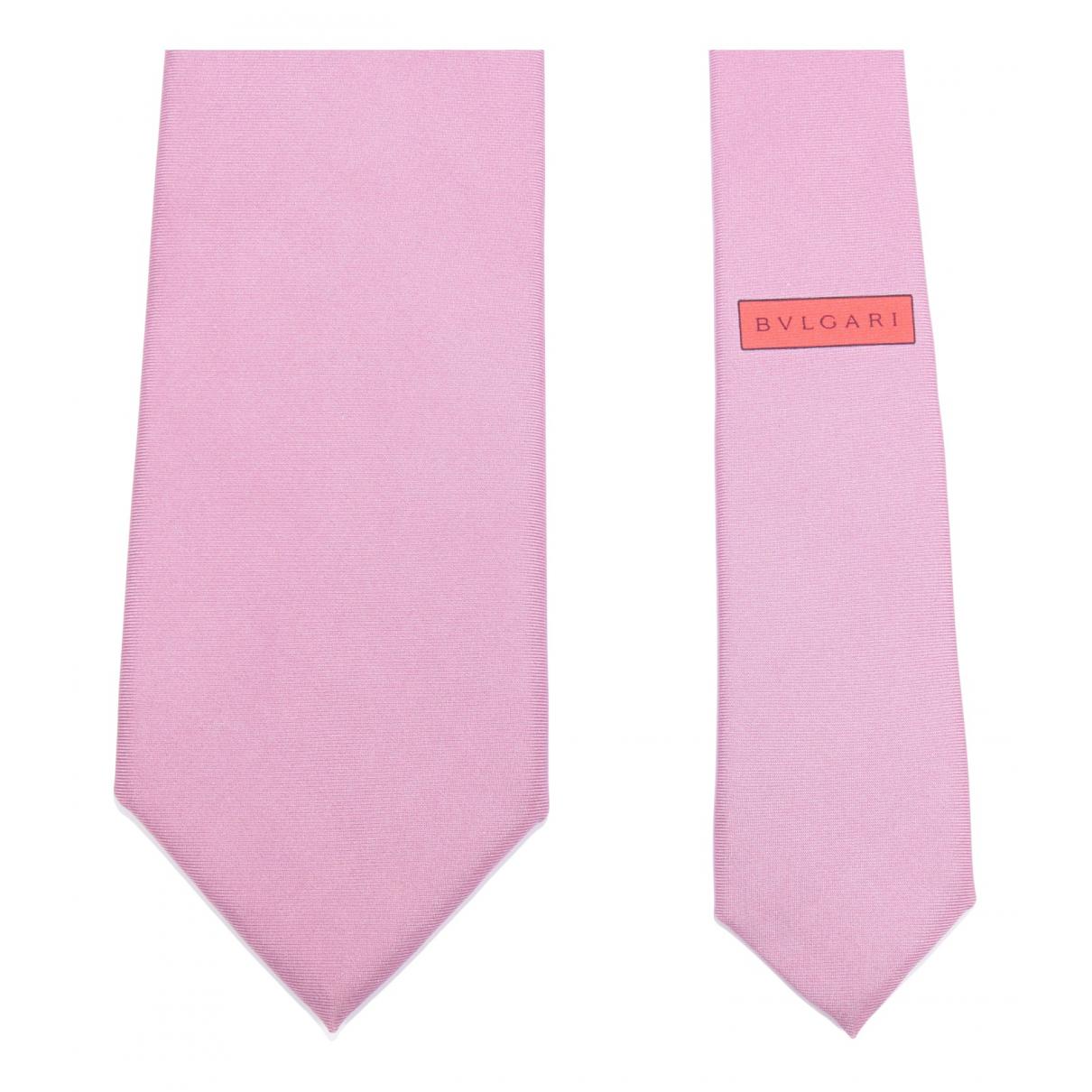 Bvlgari N Purple Silk Ties for Men N