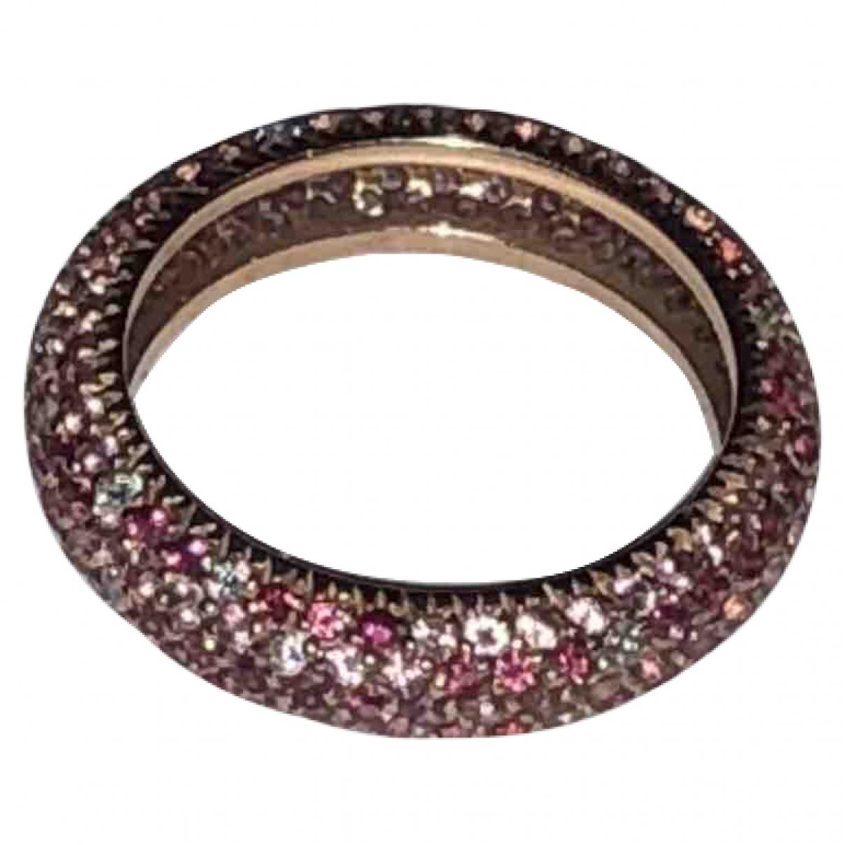 - Bague Saphir pour femme en or rose - rose