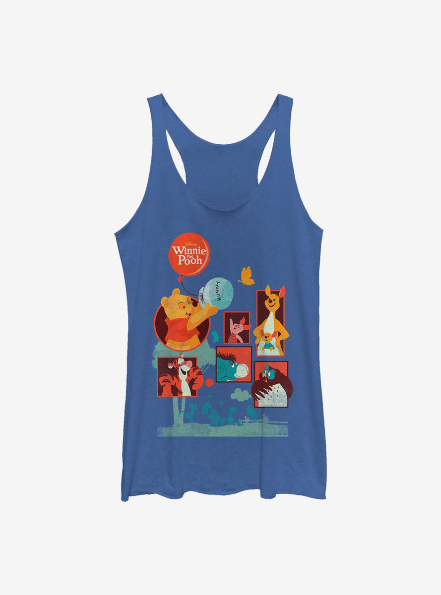 Disney Winnie The Pooh And Friends Womens Tank Top