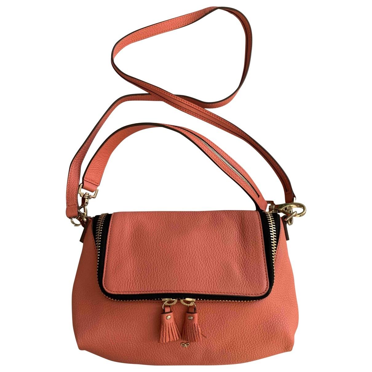 Anya Hindmarch \N Handtasche in  Orange Leder