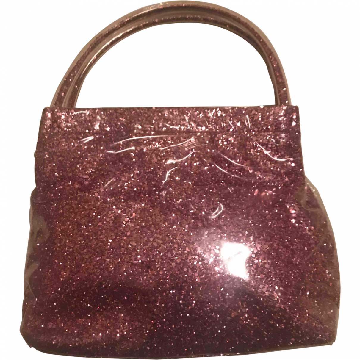 Miu Miu \N Handtasche in  Rosa Kunststoff