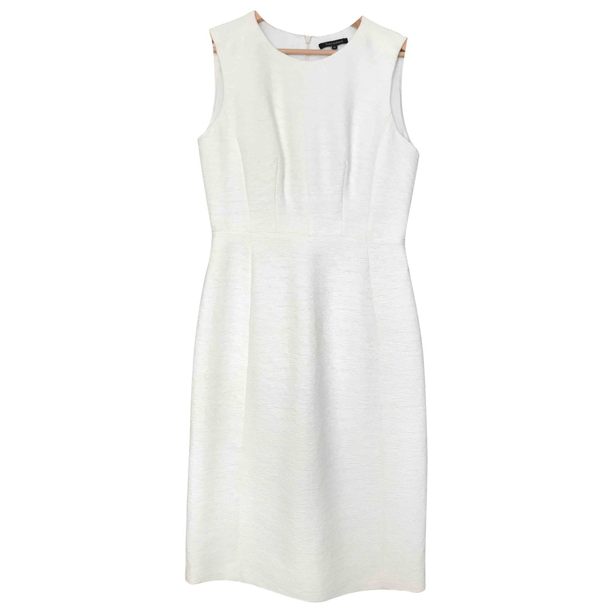 Tara Jarmon \N White Cotton dress for Women 38 FR