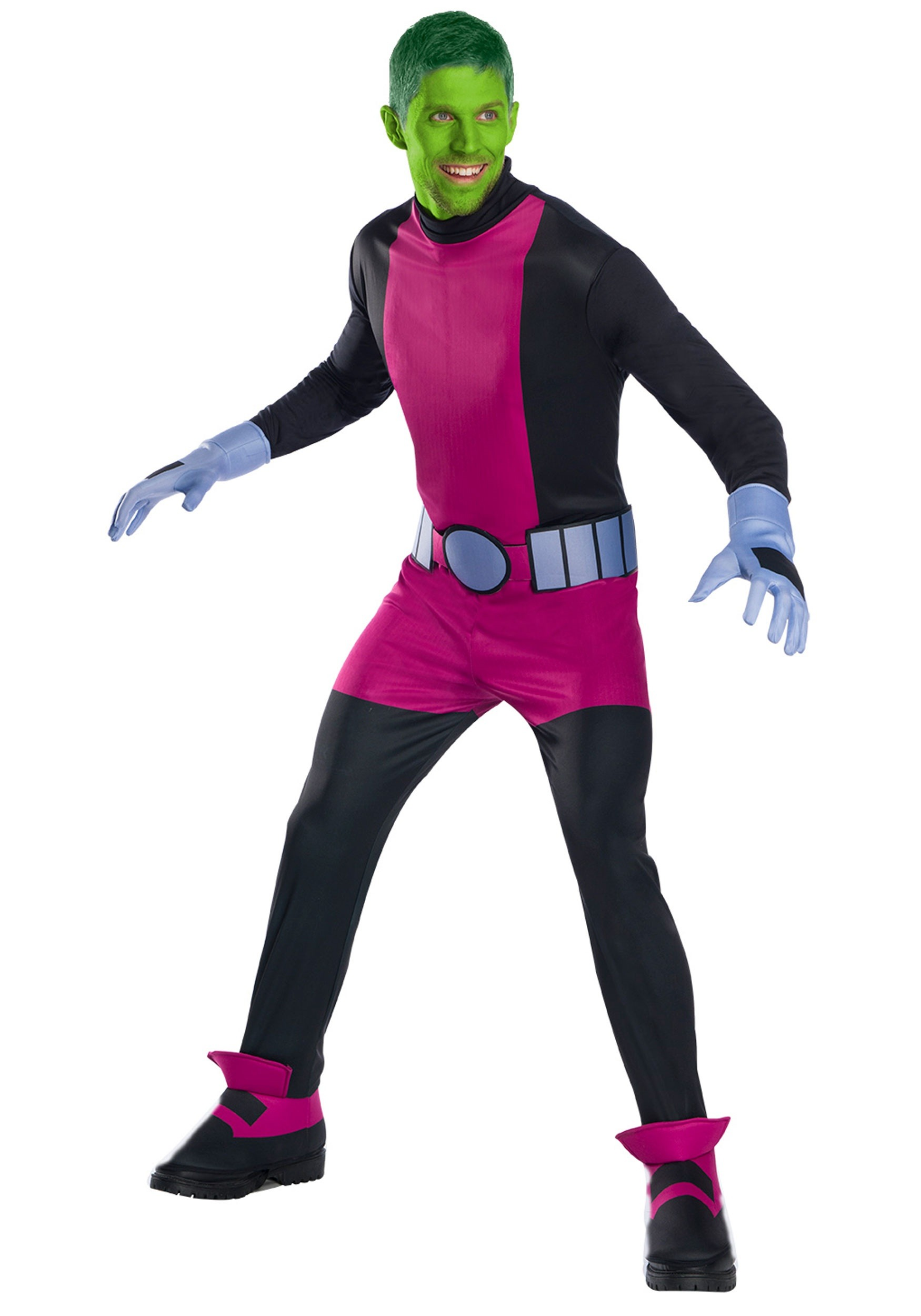 Teen Titan Beast Boy Adult Costume