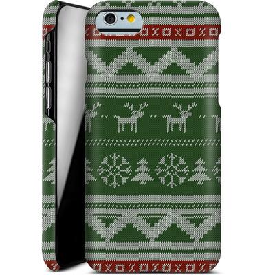 Apple iPhone 6s Smartphone Huelle - Norwegian Jumper Green von caseable Designs
