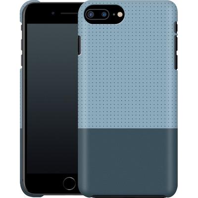 Apple iPhone 7 Plus Smartphone Huelle - Dot Grid Blue von caseable Designs