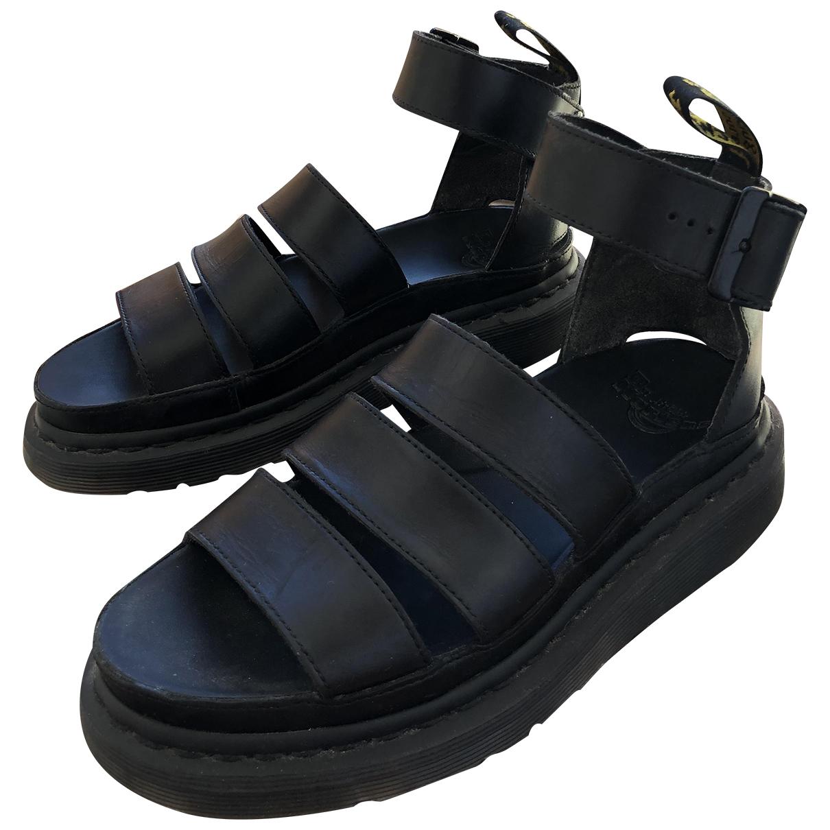 Sandalias de Cuero Dr. Martens
