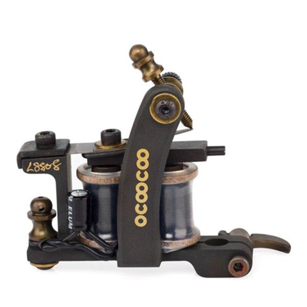 OCOOCOO S8808 T600A 9000 rev/min Master Carved Copper Secant Tattoo Machine