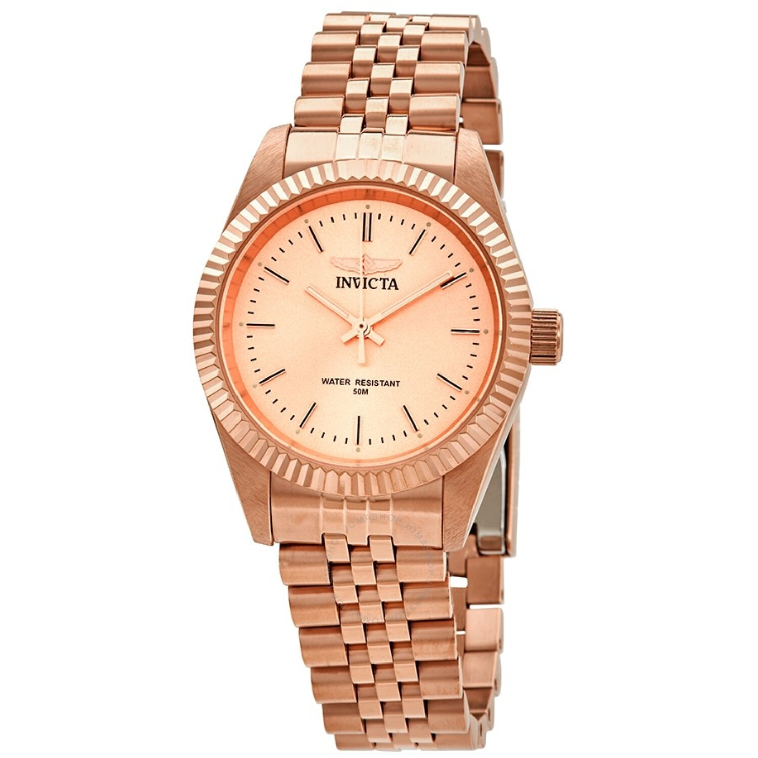 Invicta Women's Specialty 29417 Rose-Gold Stainless-Steel Quartz Dress Watch