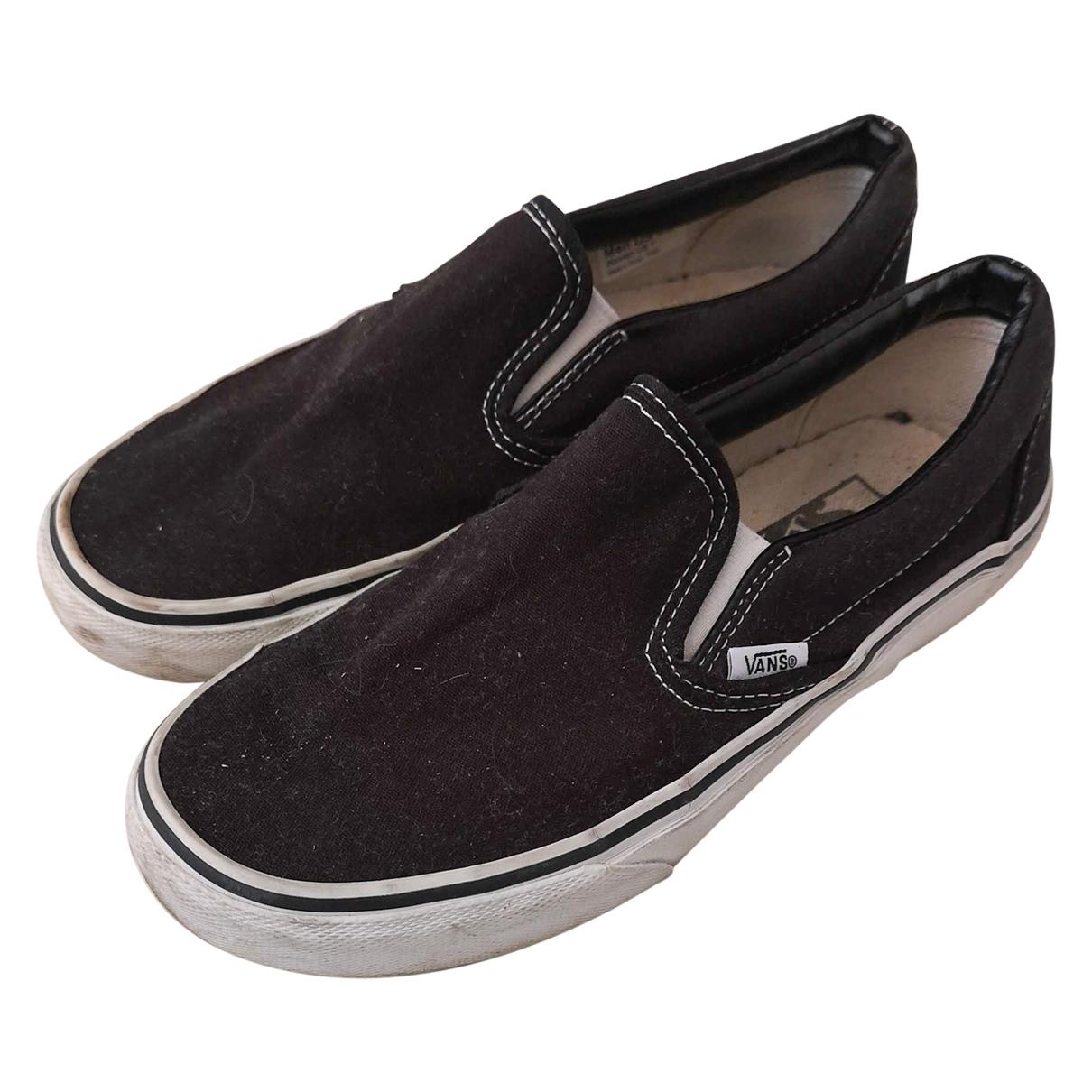Vans \N Black Cloth Trainers for Women 7 US