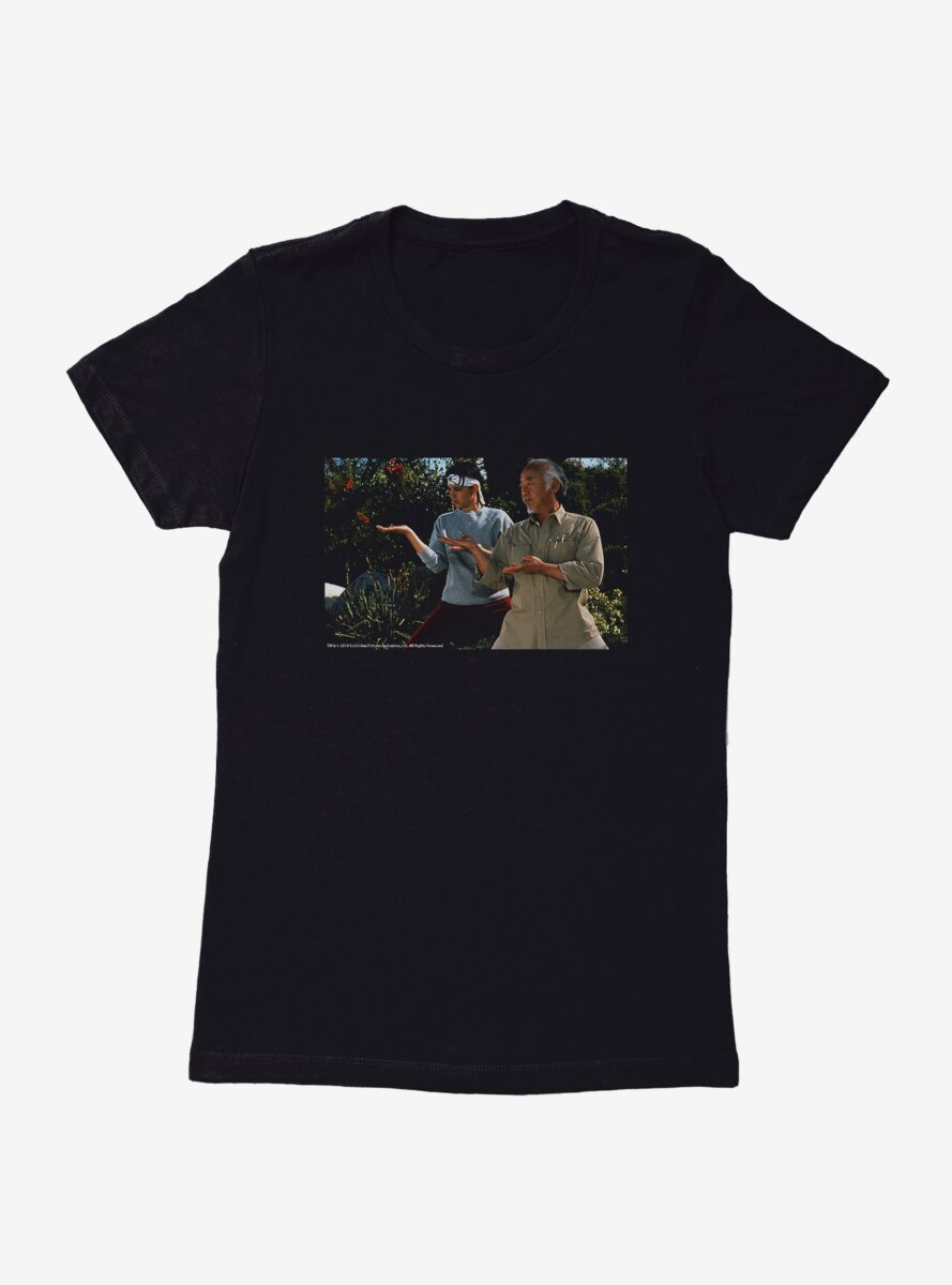 The Karate Kid Mr. Miyagi And Daniel Womens T-Shirt