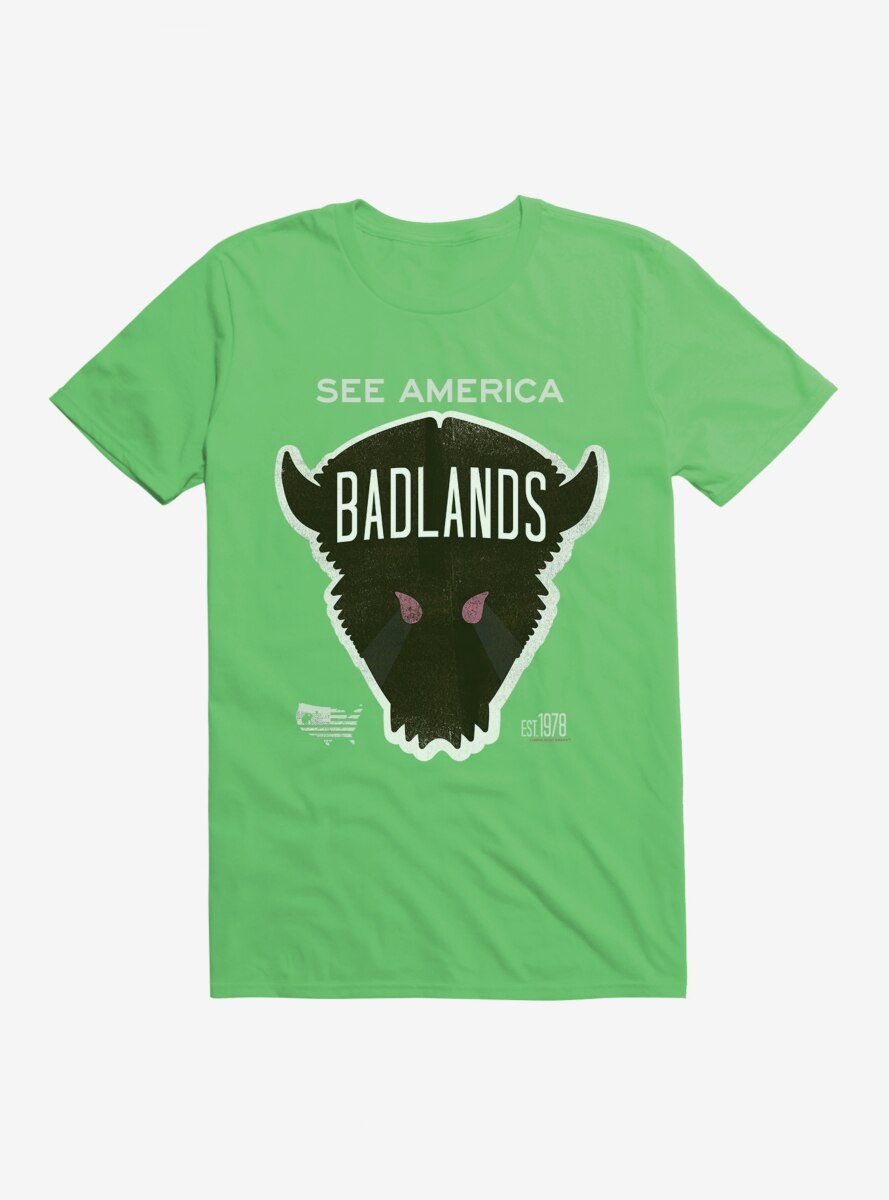 See America Badlands T-Shirt