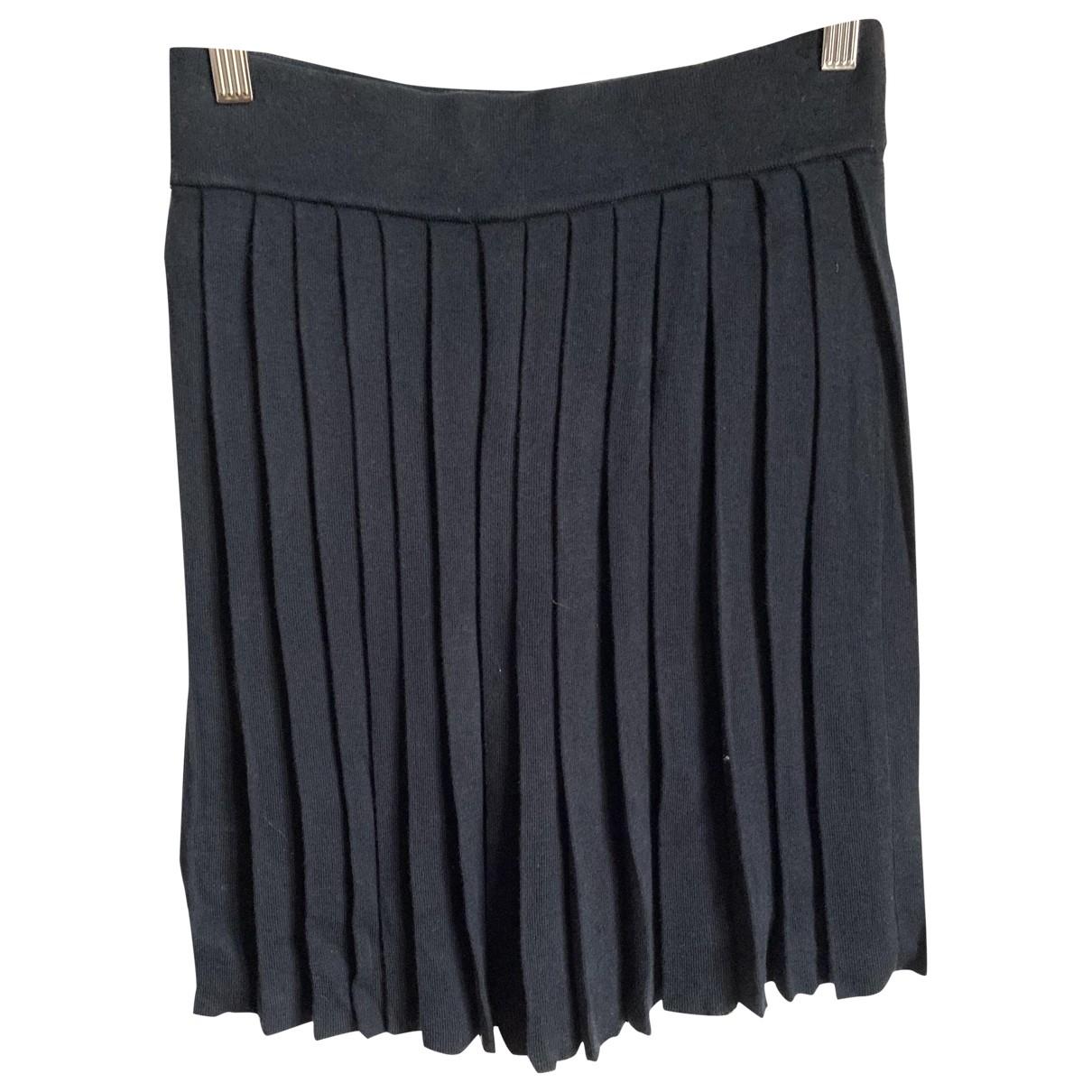 Lacoste \N Blue Wool skirt for Women 38 FR